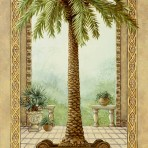 15891  Palm Tree in Basket I