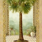 15892  Palm Tree in Basket II