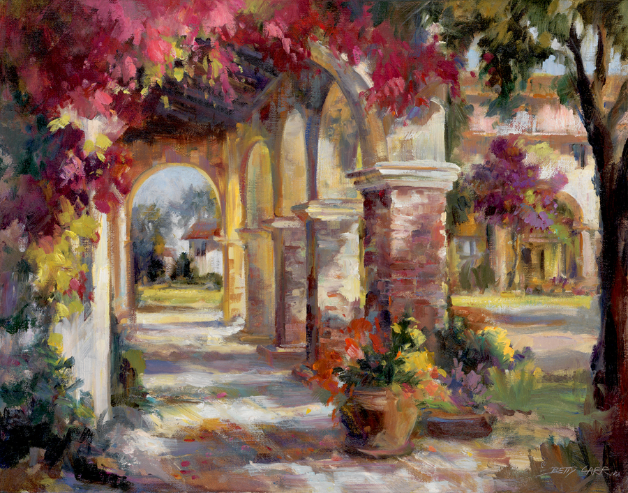 31519 Flowered Archway