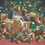 3249 Teddy Bear Christmas