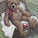 622 Bear In A Basket