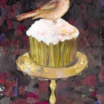 39371 Dessert Cupcake with Robin