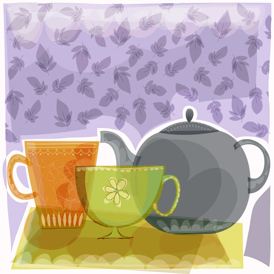 39392 Teapot and Tea